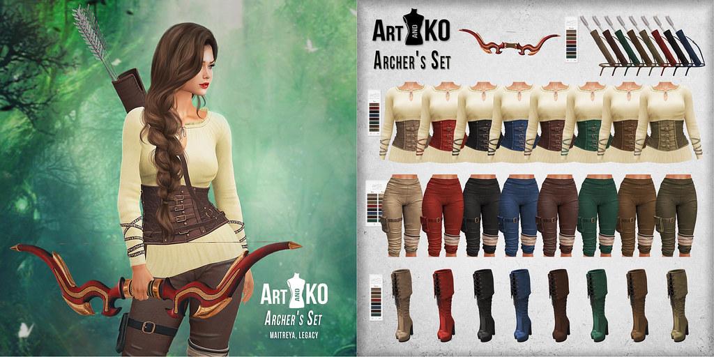 Art&Ko - Archer's Set  - Solstice