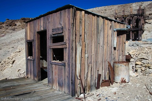 """""""Old Johnnie"""" Cyty's cabin, Death Valley National Park, California"""