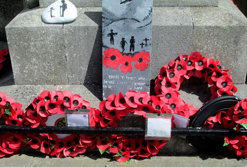 Detail, Wolsingham War Memorial