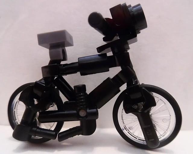 Lego Bicycle (Minifigure Scale...Sort Of)