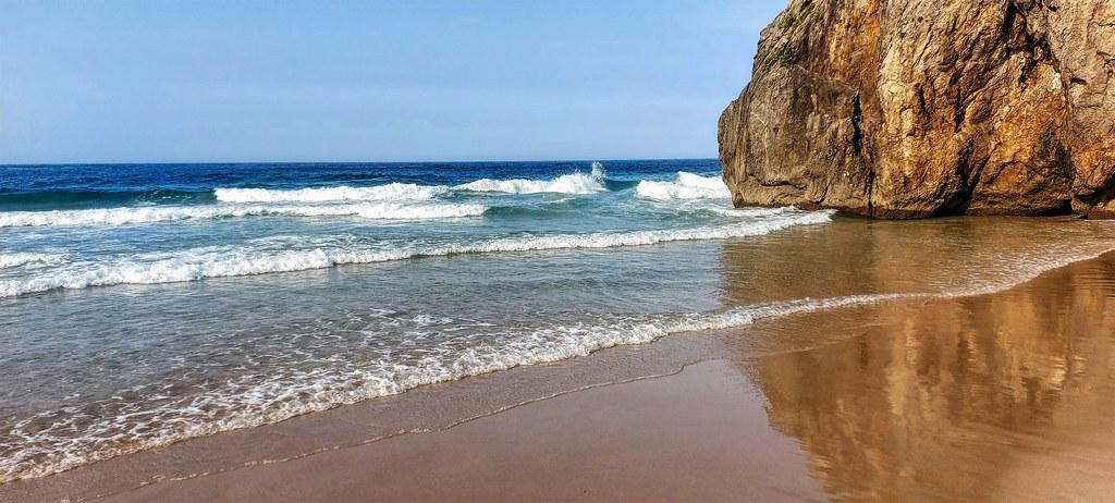 Playa de Andrín.  Asturias.