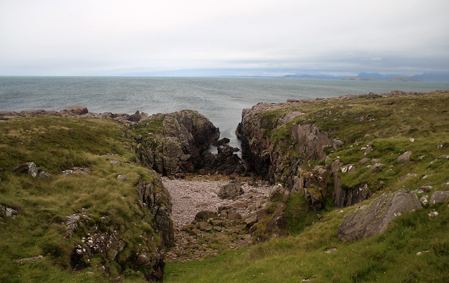 The coast west of Opinan
