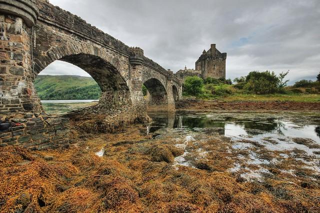 Eilean Donan Castle, Dornie, Loch Duich, North Coast 500,    Scotland, UK