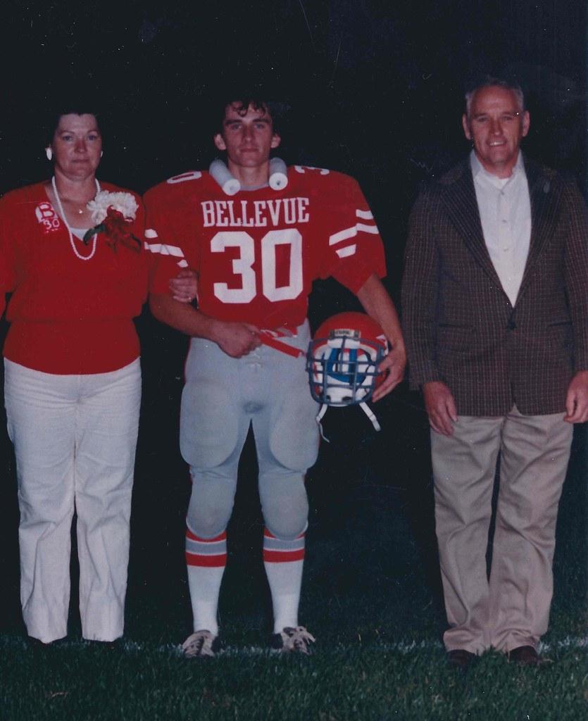 Daniel Hill Bellevue Ohio with Parents 1985