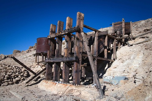 John Cyty's stamp mill, Death Valley National Park, California