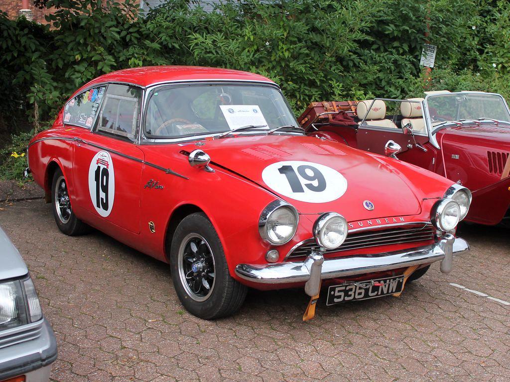536 CNW - 1962 Sunbeam Alpine Harrington Le Mans