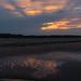 beaming through the cloud
