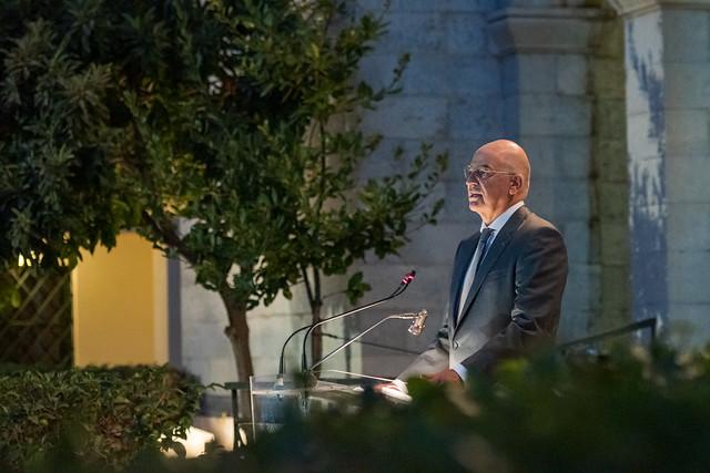 Χαιρετισμός ΥΠΕΞ Ν. Δένδια στα εγκαίνια της έκθεσης της ΥΔΙΑ (Βυζαντινό και Χριστιανικό Μουσείο, 15.09.2021)