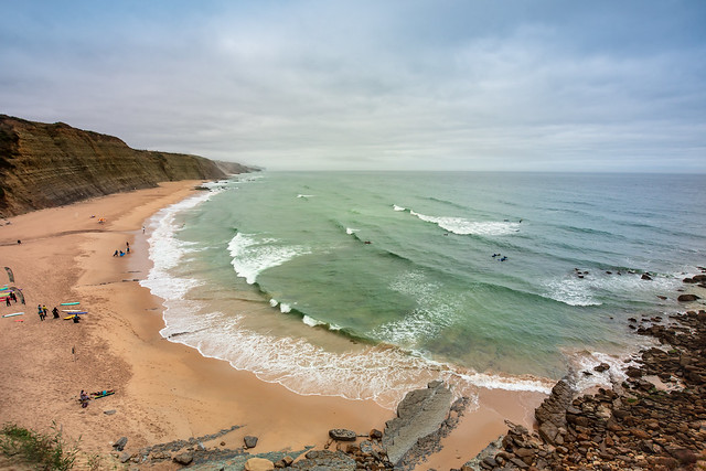 Surf day at Magoito