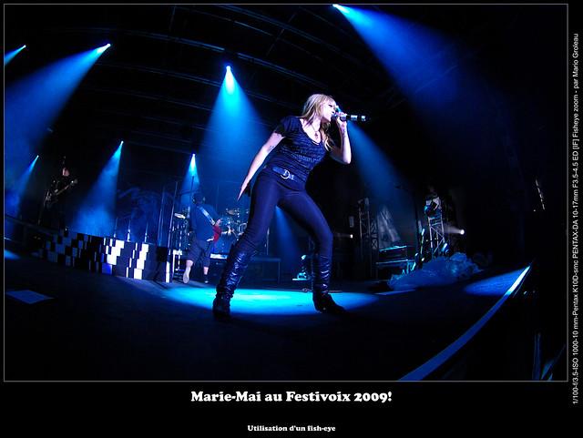 Marie-Mai au Festivoix 2009!