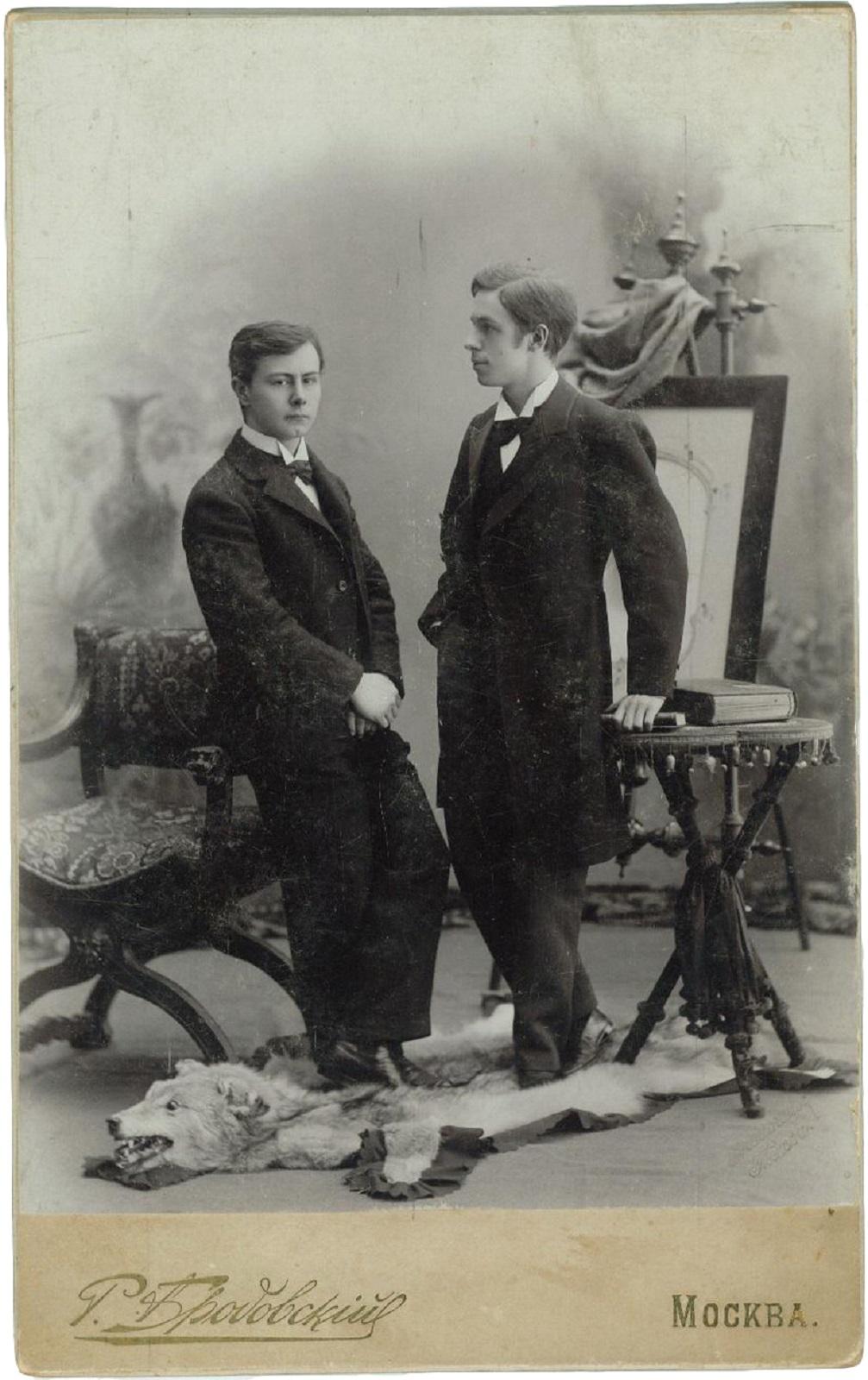 19. 1892. Пианист Гофман Иосиф Казимир и Скрябин Александр Николаевич