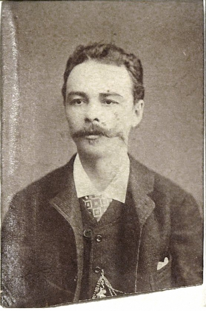 02. 1870-е. Скрябин Николай Александрович,  русский дипломат, отец композитора А. Н. Скрябина