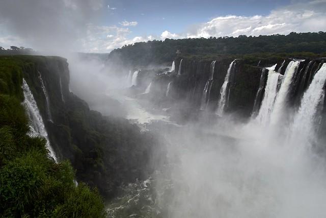 Iguazu Waterfall. Puerto Iguazu, Argentina