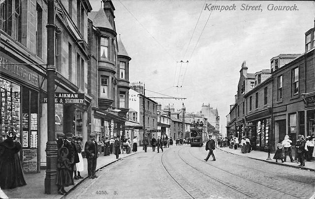 Kempock Street, Gourock