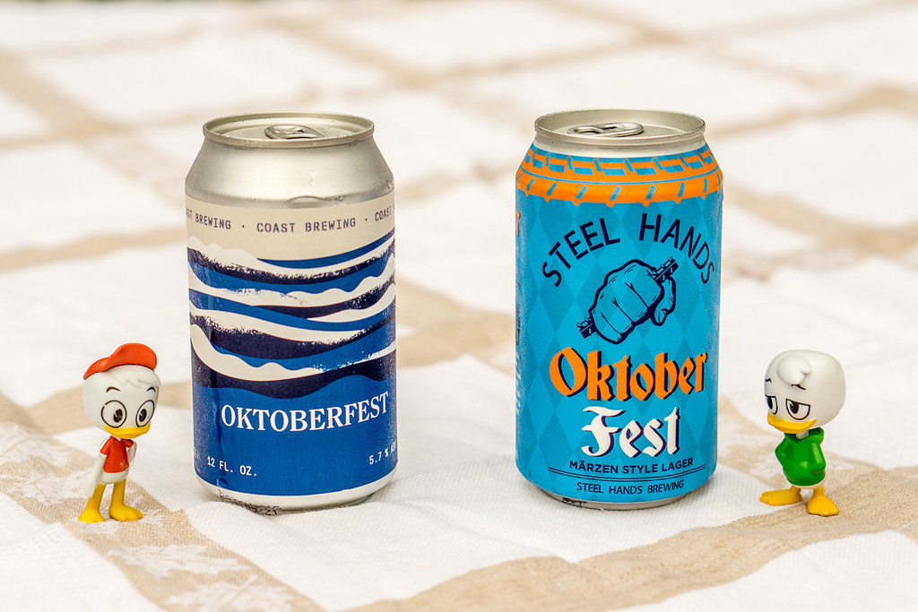 Octoberfests: Coast Brewing and Steel Hands Marzen Style Lager