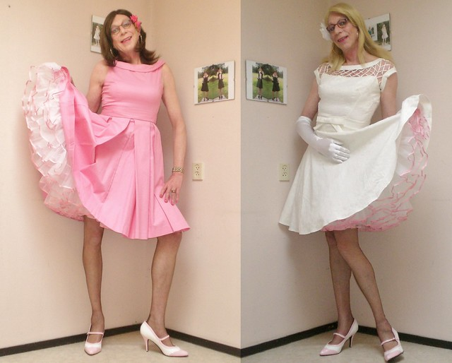 Two lovely dresses.