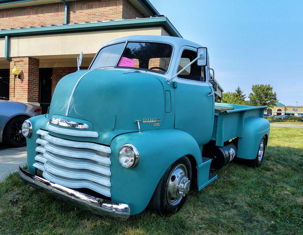 Joe Pasqualtti's 1949 Chevrolet 5700 5 Window COE Cannonball Pickup Truck
