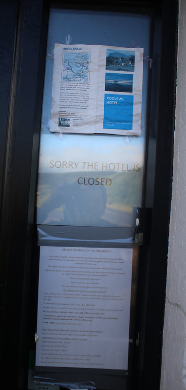 Closed Aultbea Hotel