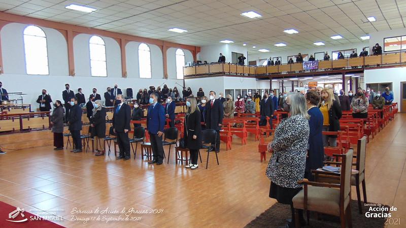 Servicio de Acción de Gracias 2021 en la Iglesia de San Miguel