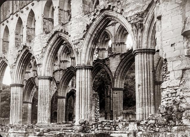 Rievaulx Abbey - Antique (1910) Camera
