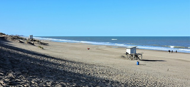 Winter beach in Mar de las Pampas - Explore September 17, 2021