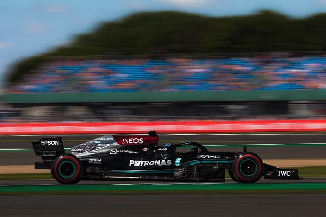 Lewis Hamilton - Mercedes W12 - Silverstone