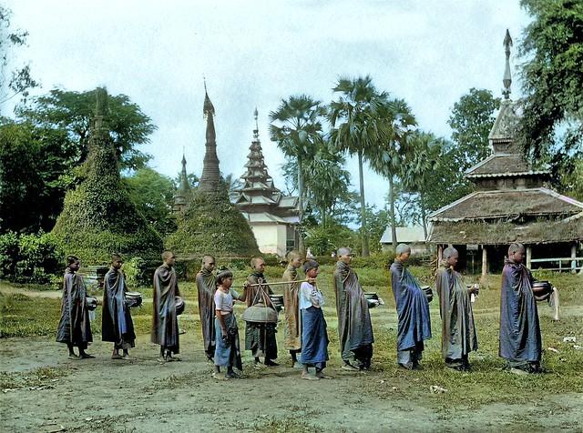 Burmese Monks ...