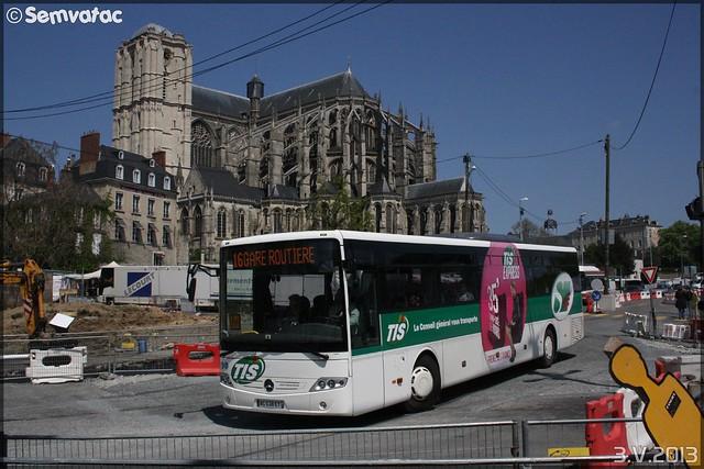 Mercedes-Benz Intouro – Transdev – STAO 72 (STAO PL, Société des Transports par Autocars de l'Ouest – Pays de la Loire) / TIS (Transports Interurbains de la Sarthe) n°72040