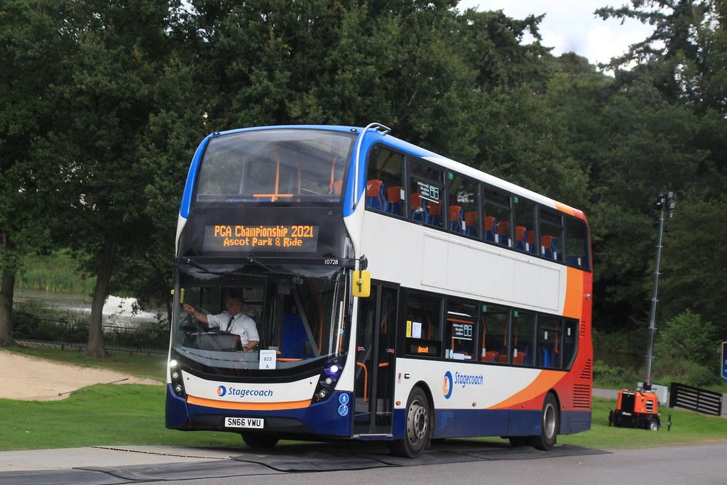 Stagecoach Midlands | 10728 SN66 VWU | Park & Ride
