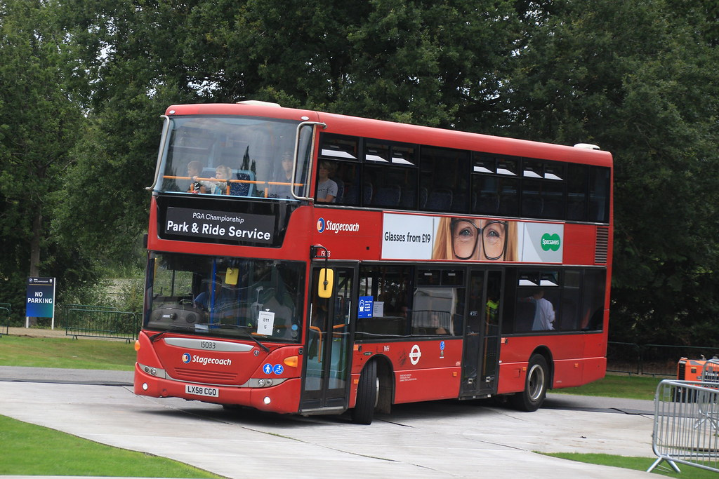 Stagecoach South East | 15033 LX58 CGK | Park & Ride