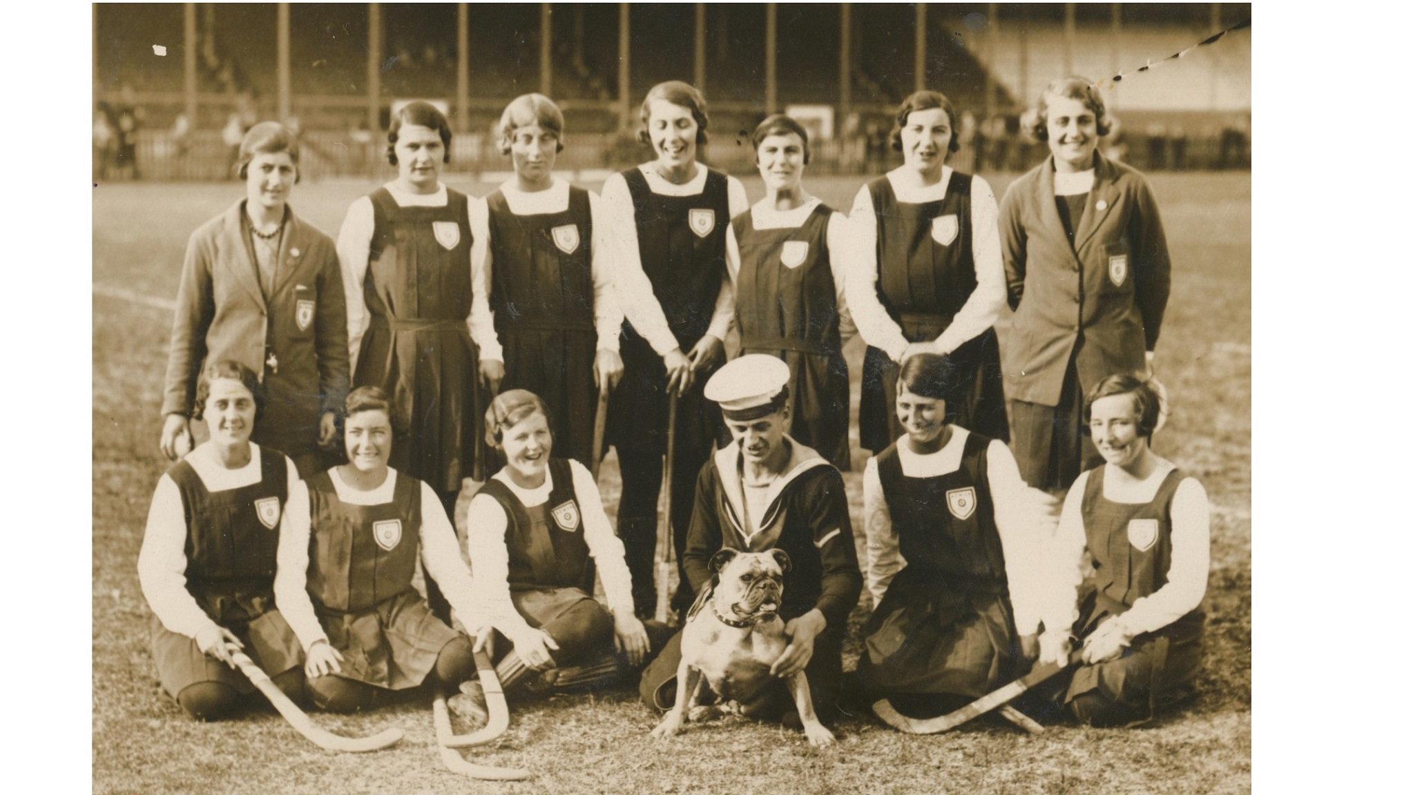 England hockey team in South Africa, 1930 (Dora Mathison A/9)