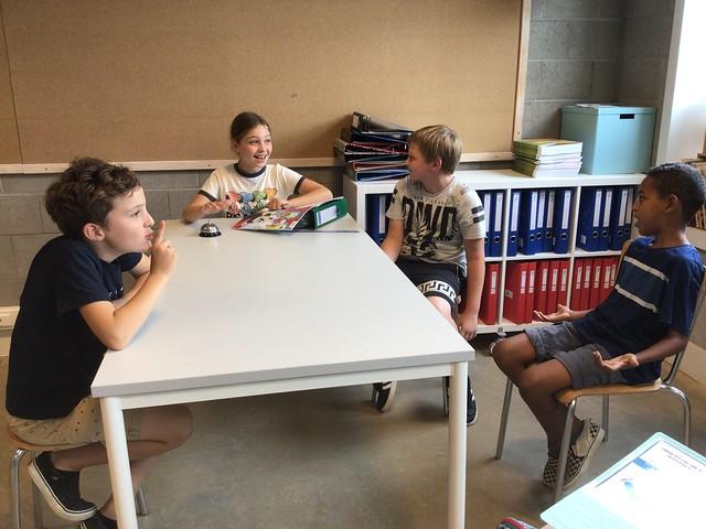 5de leerjaar - Tableau vivant van onze klasafspraken