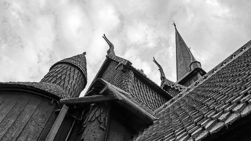 Eglise de bois debout