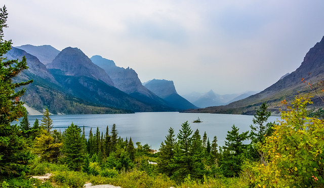 Wild Goose Island and St. Mary Lake