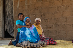 Family in Nampula, Mozambique