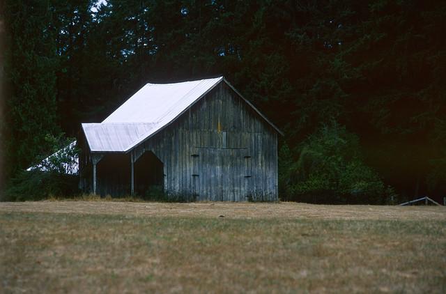 Lone Barn at Mill Bay