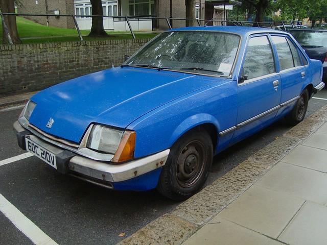 1980 Vauxhall Carlton 2000 Automatic