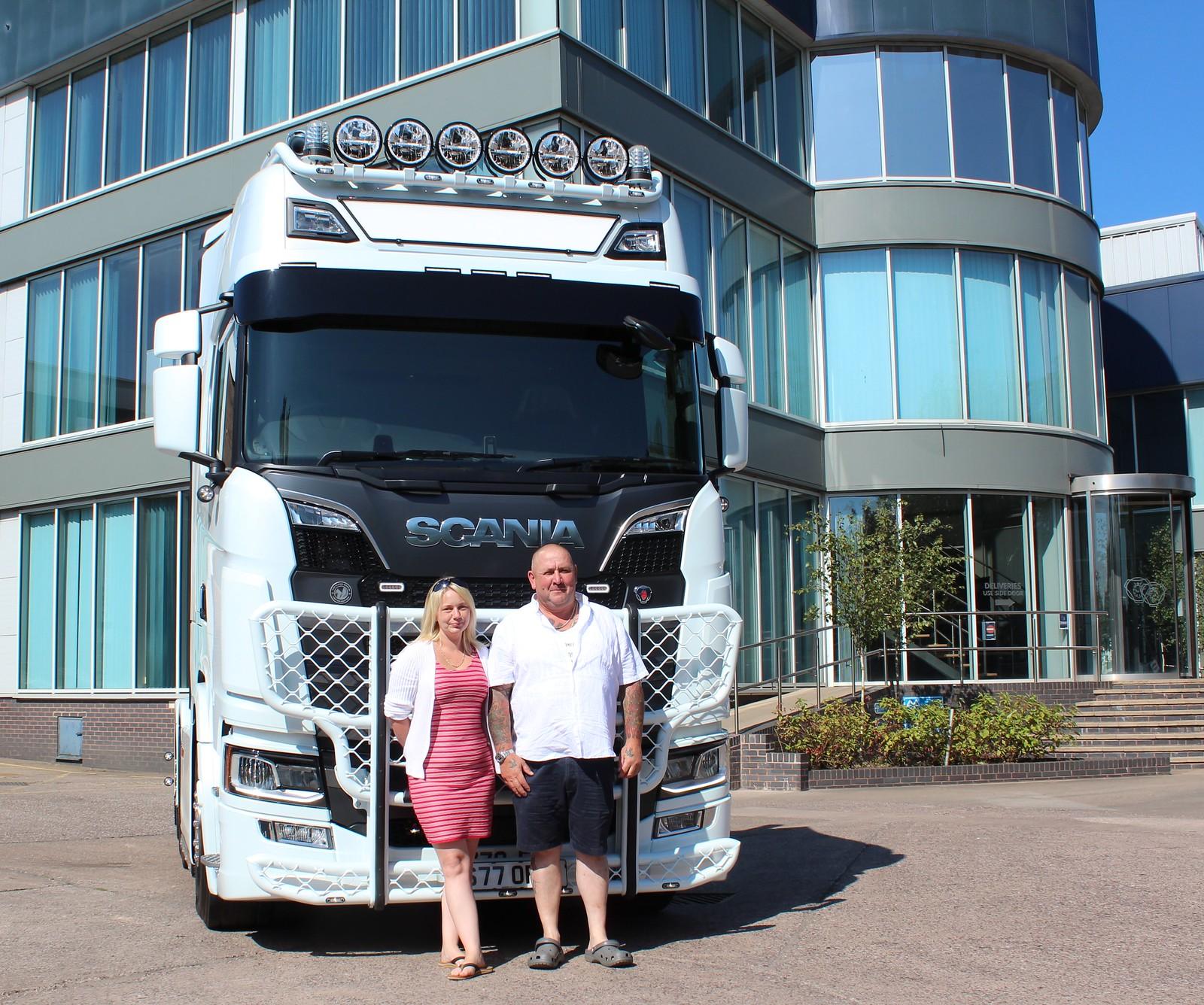 #Scania 770S V8 from Keltruck