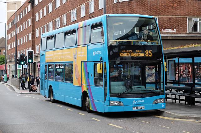 Arriva YJ08 EEV, Leicester