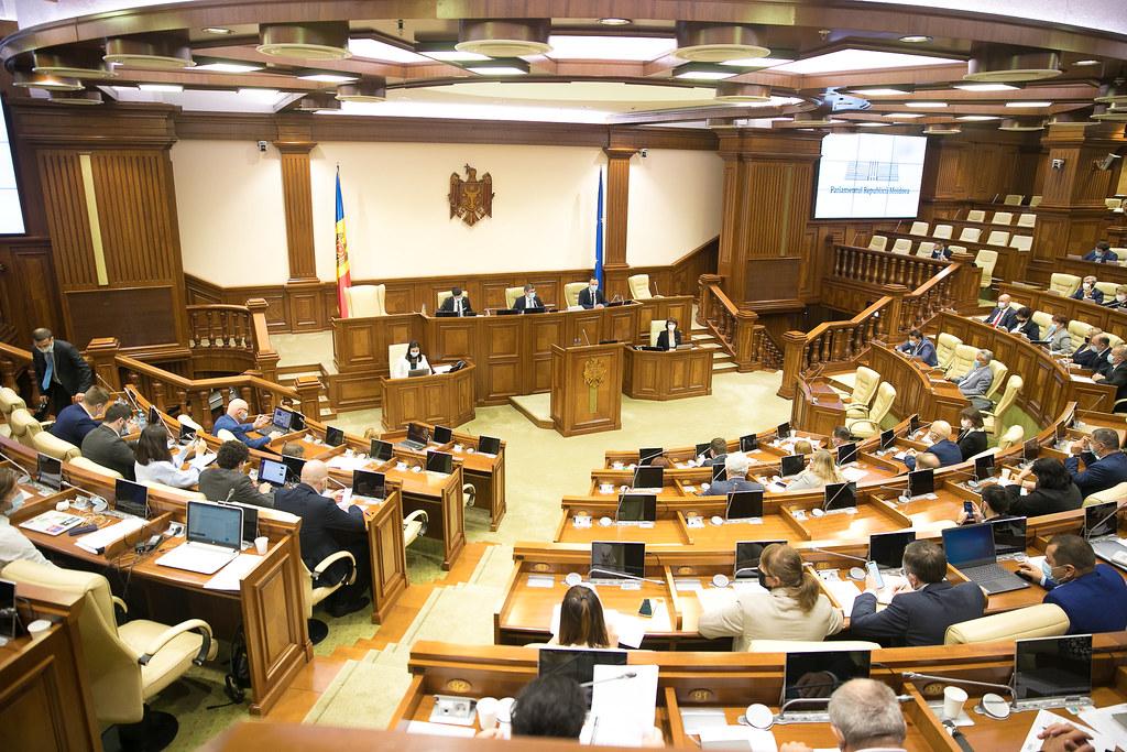 16.09.2021 – Ședința plenară a Parlamentului Republicii Moldova