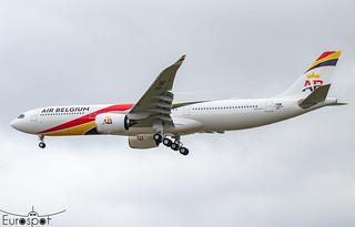 F-WWKQ / OO-ABG Airbus A330-941 Air Belgium s/n 1861 * Toulouse Blagnac 2021 *