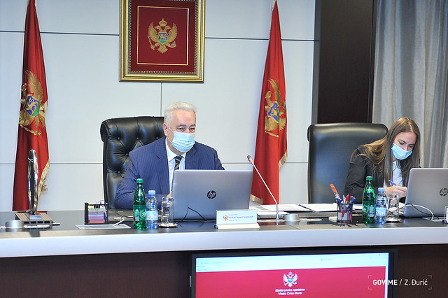 39. sjednica Vlade Crne Gore (16.09.2021.)