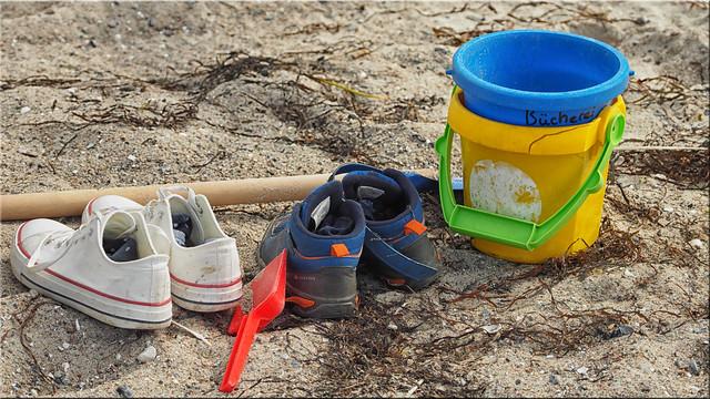 Still life on the beach -  Stillleben am  Strand