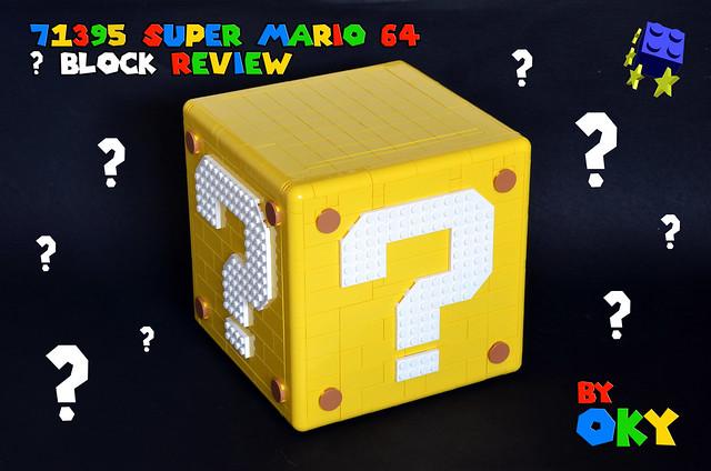 71395 Super Mario 64 Question Mark Block Review