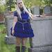 Gloomth Gothic Girl in Graveyard