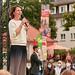 Annalena und Britta am Siegfriedplatz in Bielefeld