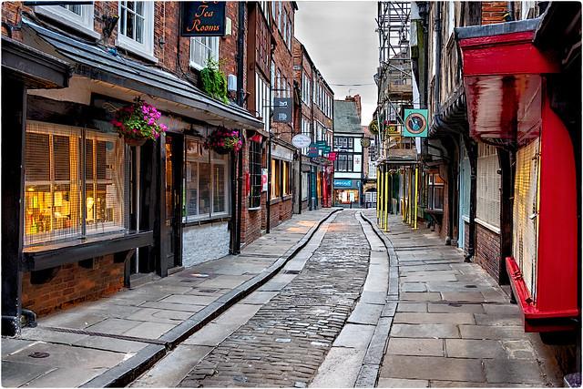 The Shambles Street in York !!!