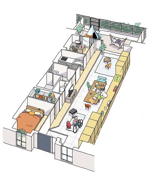 【SUUMO】ルネ西宮甲子園 のこだわりの間取りレポート