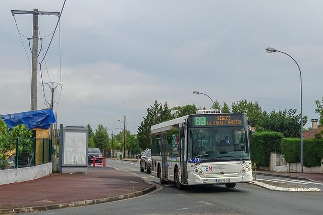 TBM - Ligne 89 - GX 127
