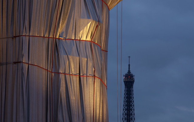 Two Landmarks, One Wrapped